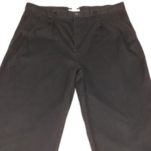 Gap mild pleat Navy blue khaki pants mens 38×32